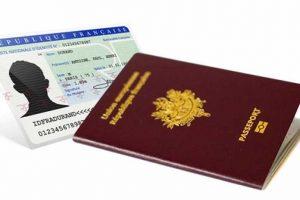 logo CNI et passeport